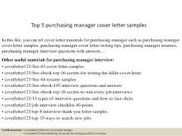 Sample Resume For Purchase Manager top 5 purchasing manager cover letter samples 1 638 jpg cb u003d1434616296