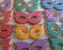mask cookies etsy