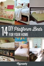 budget bedroom ideas diy platform bed diy bedroom and platform beds