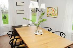 light bright and airy dining room update earnest home co