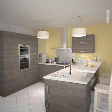 plan de cuisine moderne cuisine en bois structuré stilo noyer naturel kitchens modern