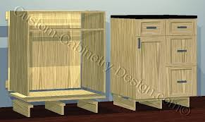 how to build custom base cabinets frameless base cabinet toe kick legs options