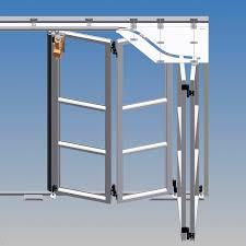 folding garage door schiebefalttore aus aluminium oder stahl von schneider torsysteme