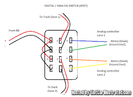 digital analog switchbox for carrera digital slot car