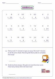 single digit subtraction without regrouping 178 best addition digits images on addition