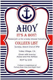 nautical baby shower invitations nautical ba shower invitations templates nautical ba shower nautical
