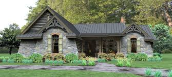 Rustic Cabin Plans Floor Plans Dakota Cottage House Plan Covered Porch Plans Rustic Country