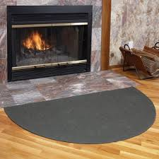 Maple Rugs Breathtaking Fiberglass Fireplace Hearth Rugs Of Half Round