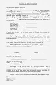 sale deed format images sale deed for car real state