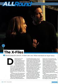 film hot era 90an fox international channels the launching of x files tv series