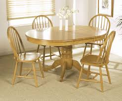 dining room charming wooden expandable dining table set for