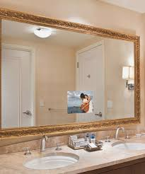 Tv In Mirror Bathroom by Bathroom Mirrors With Built In Tvs Addlocalnews Com