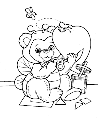 valentine day bingo coloring page coloring page
