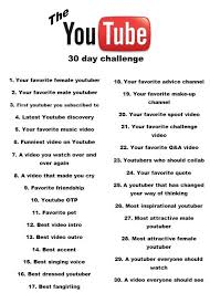 Challenge Reason The 30 Day Challenge And To My Friends This Is The