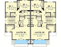 Multi Family House Plans | hillside multi family home plan 69111am architectural designs