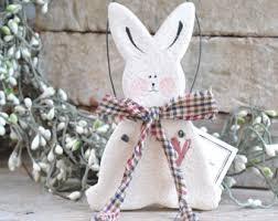 bunny ornament etsy