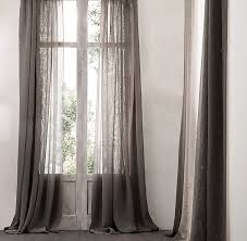 Restoration Hardware Belgian Opaque Linen 9 Décor Tricks To Guarantee A Polished Space Restoration