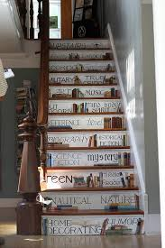 stair ideas stair riser decor ideas