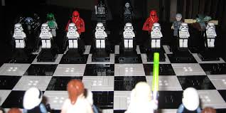 this awesome dad created a u0027star wars u0027 lego travel chess game