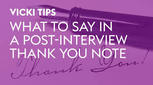 Thank You Letter After Interview Email Samples sample thank you letter after interview monster com