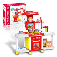 jouer cuisine creative enfants éclairage effets sonores jouer à faire semblant