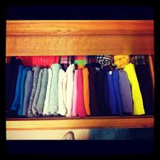 organizing shirts in closet radiating sunshine organizing in college