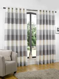 Navy Blue And White Striped Curtains Curtains Navy Blue Blackout Living Room Ready Made Striped