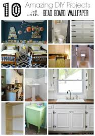 Beadboard Kitchen Cabinets Diy - 10 amazing diy projects with bead board wallpaper beneath my heart