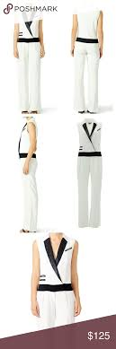 white tuxedo jumpsuit zoe white tuxedo jumpsuit d rompers and pant jumpsuit