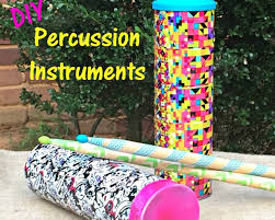 diy percussion instruments pringles summer jam bullock u0027s buzz