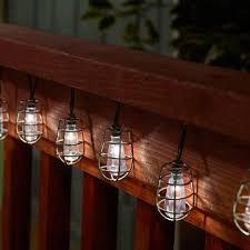Edison Lights String by Cornelius Solar String Lights Edison Bulb Inspired Industrial