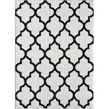 White And Black Area Rug Innovation Black And White Area Rug 8x10 Rugs 810 2214070144 In