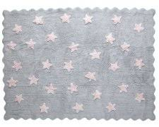 Pink Grey Rug Light Grey Rug With Pink Star Cotton Rugs Rugs Wallpapers