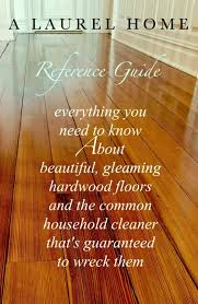 all about hardwood flooring the common cleaner that ll ruin them