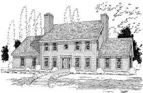 colonial house plans colonial house plan 3723tm architectural designs house