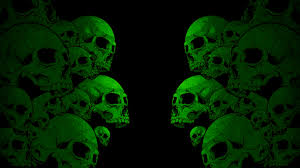 wallpaper skull paint color background hd picture image