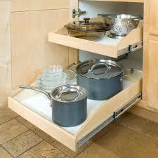 kitchen cabinet pull out storage racks slide a shelf soft shelf