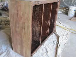 Refinish Wood Paneling How To Refinish A Bookshelf