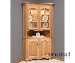 corner hutch dining room hutches hardwood dining room furniture homestead furniture