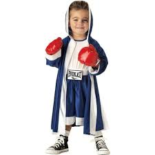 Halloween Costumes Toddler Boy Amazon Toddler Everlast Boxer Costume Size 2 4t Clothing