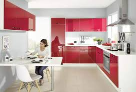 sconto küche küche front rot hochglanz korpus weiß sconto sb ansehen