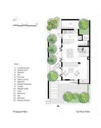 gallery of epv house ahl architects associates 31 epv house proposal plan first floor plan