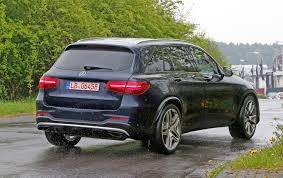 crossover mercedes mercedes amg glc 63 spied the crossover is coming by car