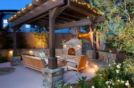 How To Do Landscape Lighting - how to create an outdoor living room and get 5 000 to do it