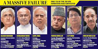 The Cabinet Members India Elections Modi Wave Wipes Out Upa Cabinet Out Of The 16
