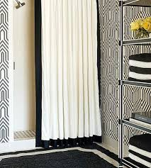 Black And White Wallpaper For Bathrooms - a designer u0027s guide to decorating in black and white