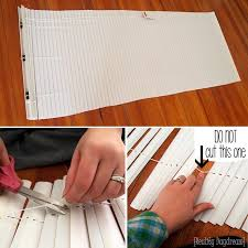 How To Make A Layout Blind How To Make Diy Mini Blinds Using Your Existing Mini Blinds