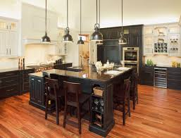 Alderwood Kitchen Cabinets by Alder Wood Black And Antique White Paint With Country Finish