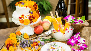 edible flower garnish recipe prosecco pops with edible flowers home family
