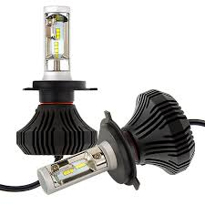Led Light Bulbs For Headlights by Led Headlight Kit H4 Led Fanless Headlight Conversion Kit With